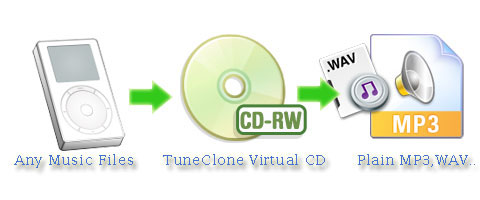 Convert protected WMA to plain MP3.